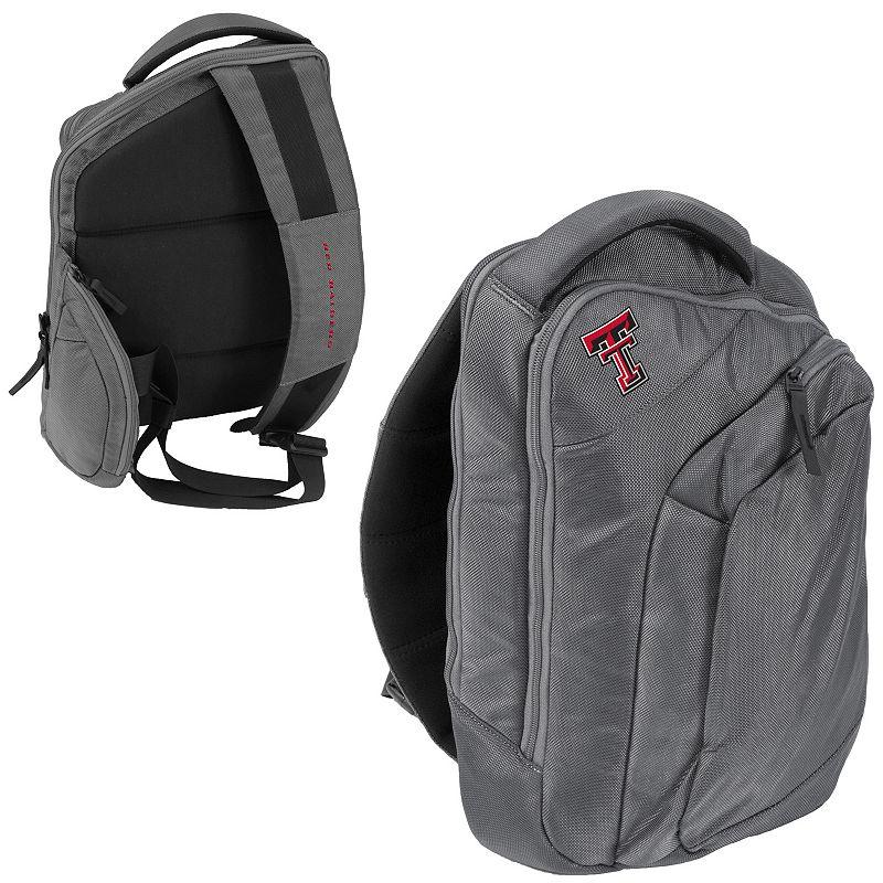 Logo Brand Texas Tech Red Raiders Game Changer Sling Backpack