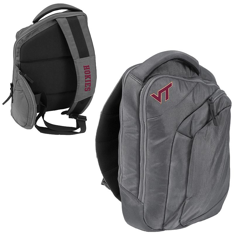 Logo Brand Virginia Tech Hokies Game Changer Sling Backpack