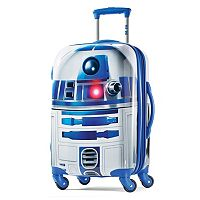 Star Wars R2-D2 21-Inch Hardside Spinner Carry-On Luggage by American Tourister