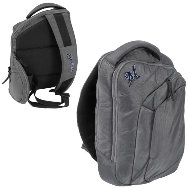 Logo Brand Milwaukee Brewers Game Changer Sling Backpack