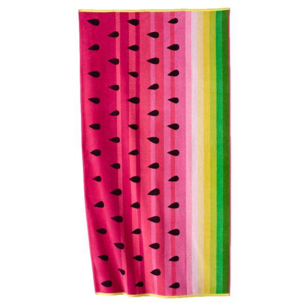 Celebrate Summer Together Watermelon Beach Towel