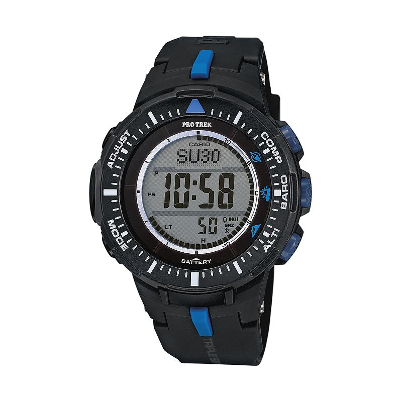 Casio barometer watch kohl 39 s for Watches kohls