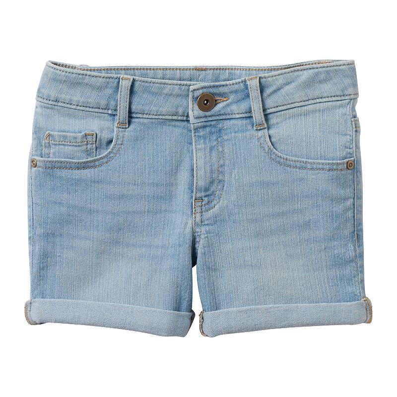 Girls 7-16 & Plus Size SO® Roll Cuff Denim Shorts