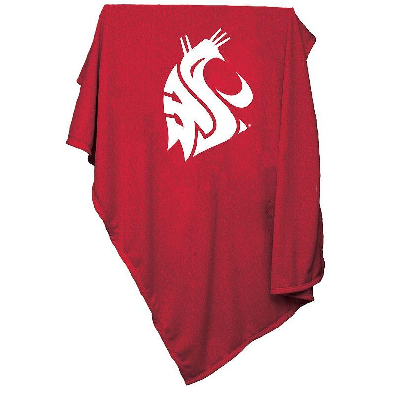 Logo Brand Washington State Cougars Sweatshirt Blanket