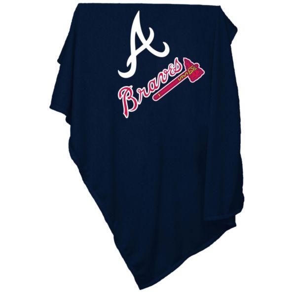 Logo Brand Atlanta Braves Sweatshirt Blanket