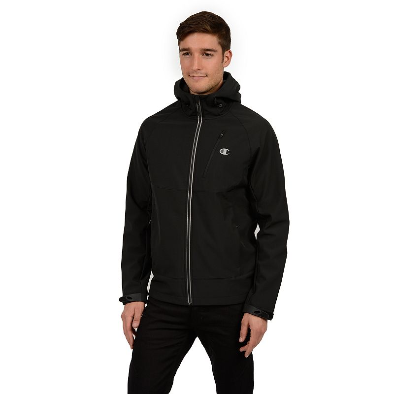 Men's Champion Softshell Hooded Performance Jacket