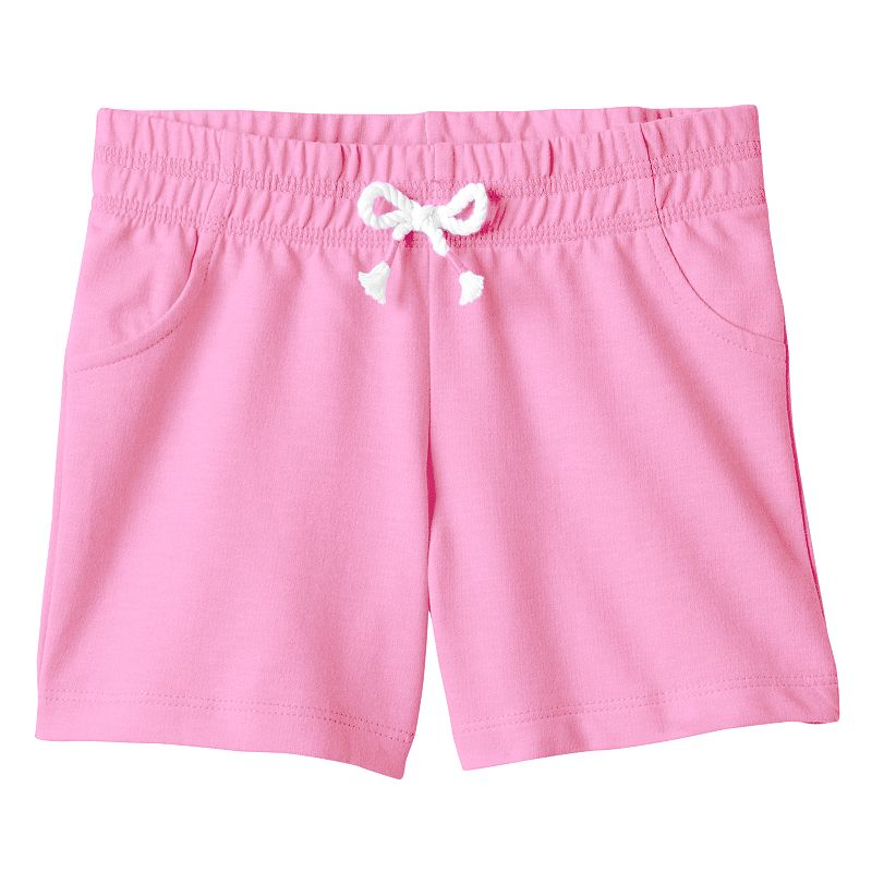 Girls 4-7 Jumping Beans® French Terry Bermuda Shorts