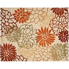 Safavieh Four Seasons Foliage Indoor Outdoor Rug by