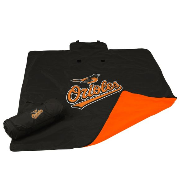 Logo Brand Baltimore Orioles All-Weather Blanket