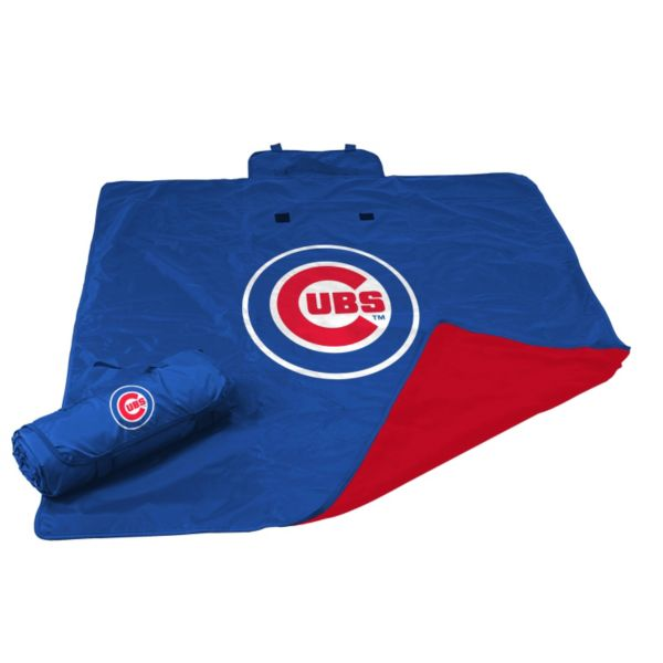 Logo Brand Chicago Cubs All-Weather Blanket