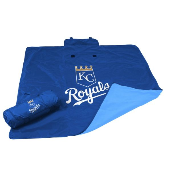 Logo Brand Kansas City Royals All-Weather Blanket