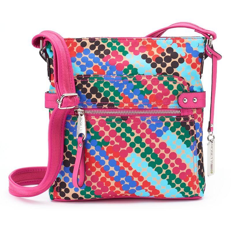 Rosetti Halifax Bold Pattern Crossbody Bag
