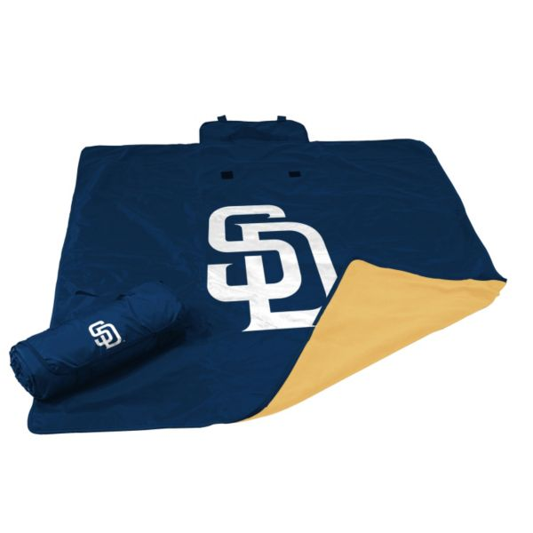 Logo Brand San Diego Padres All-Weather Blanket
