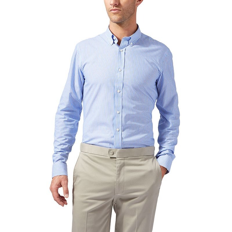 Men's Dockers Battery Street Classic-Fit Button-Down Collar Dress Shirt