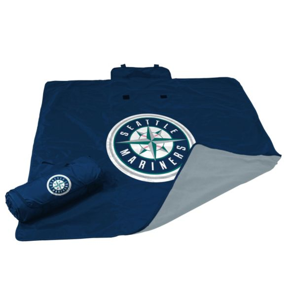 Logo Brand Seattle Mariners All-Weather Blanket