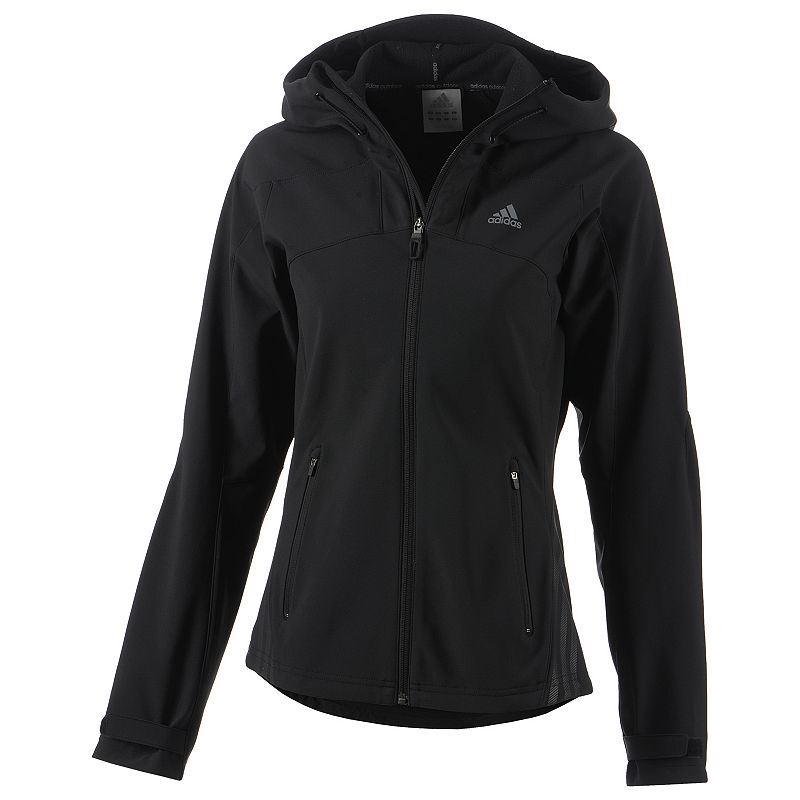 Women's adidas Outdoor Soft Shell Hooded Jacket