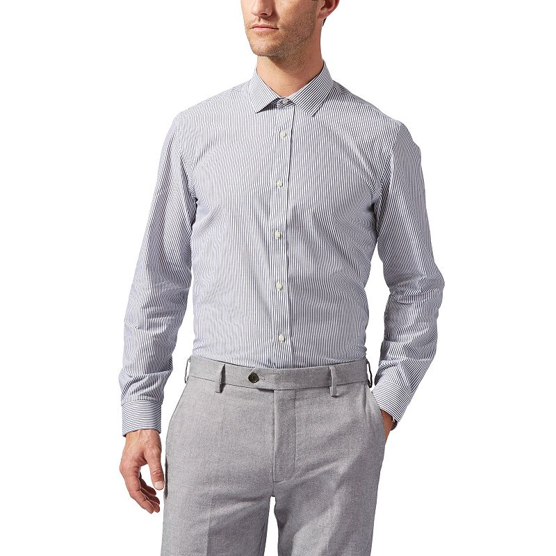 Men's Dockers Battery Street Classic-Fit Spread-Collar Dress Shirt