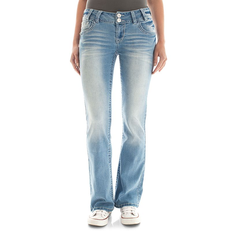 Juniors' Wallflower Bootcut Jeans