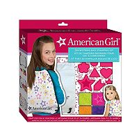 American Girl Drawstring Bag Stamping Kit by Fashion Angels