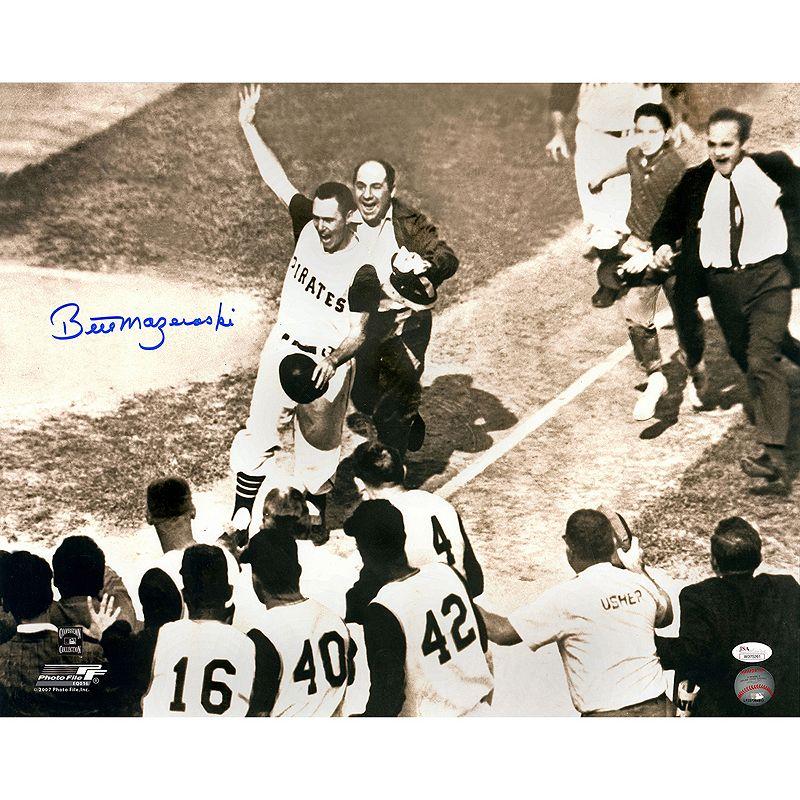 Steiner Sports Pittsburgh Pirates Bill Mazeroski Rounding Bases Shot Heard 'round the World 16
