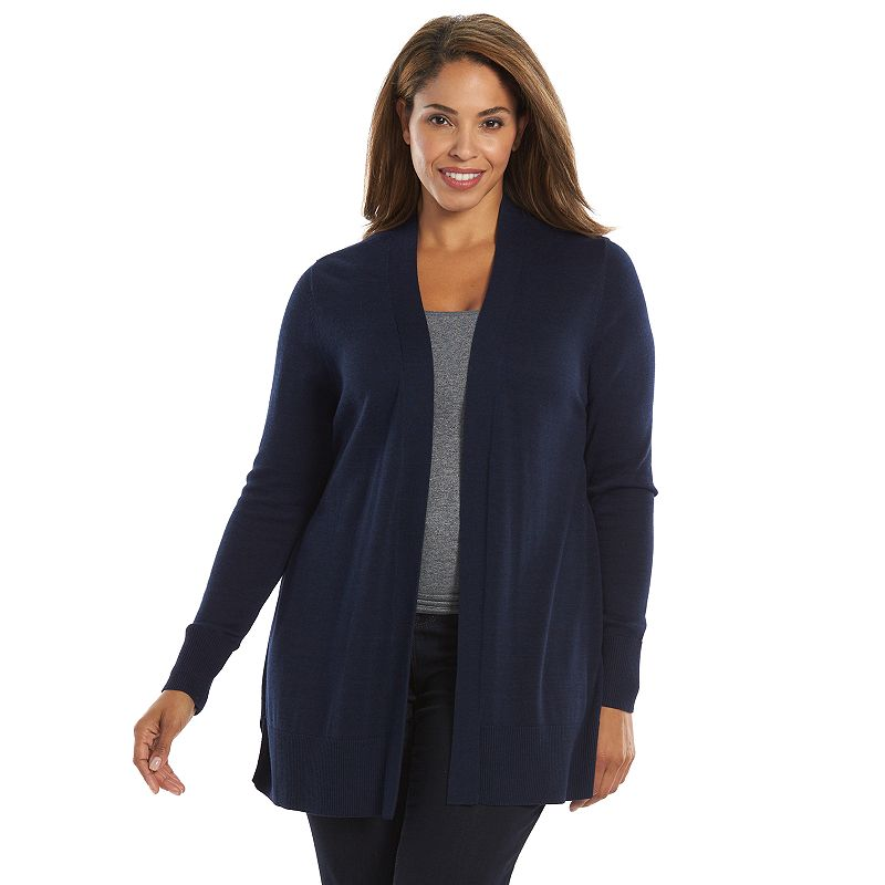 Plus Size Croft & Barrow® Essentials Cardigan