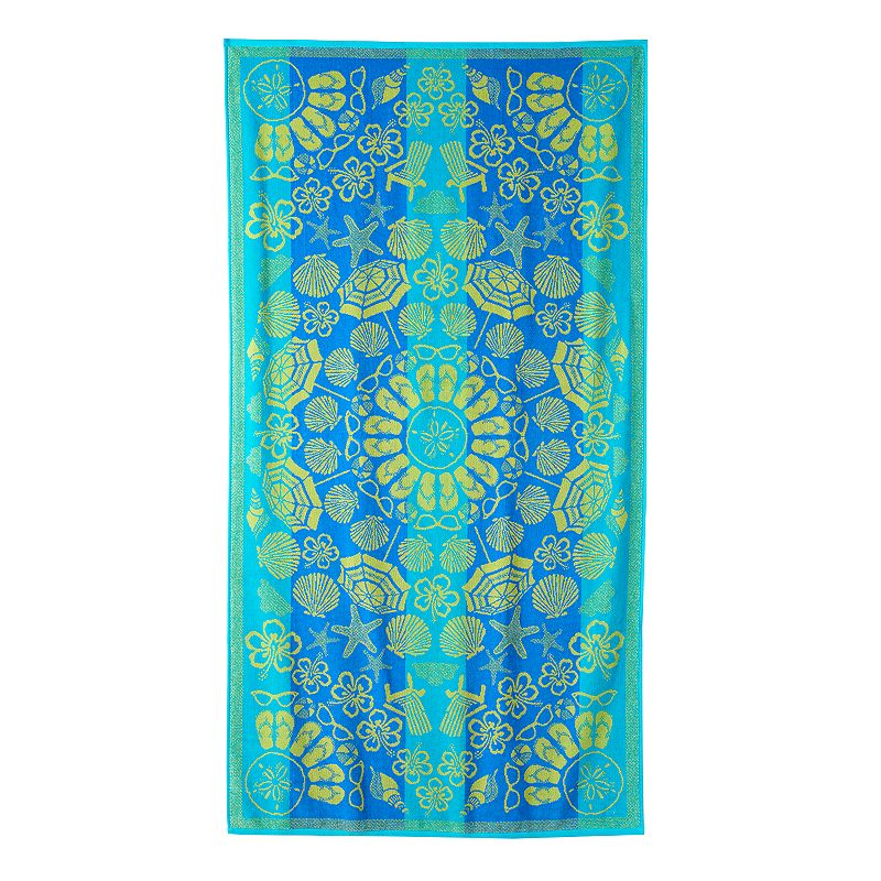 Celebrate Summer Together Beach Icons Beach Towel