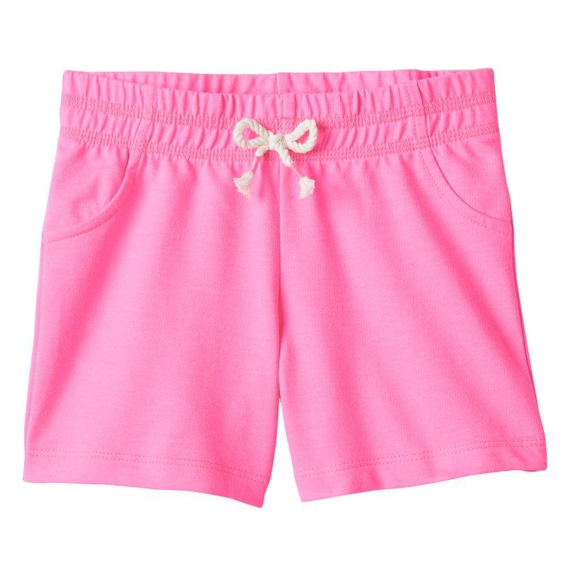 Toddler Girl Jumping Beans® French Terry Bermuda Shorts