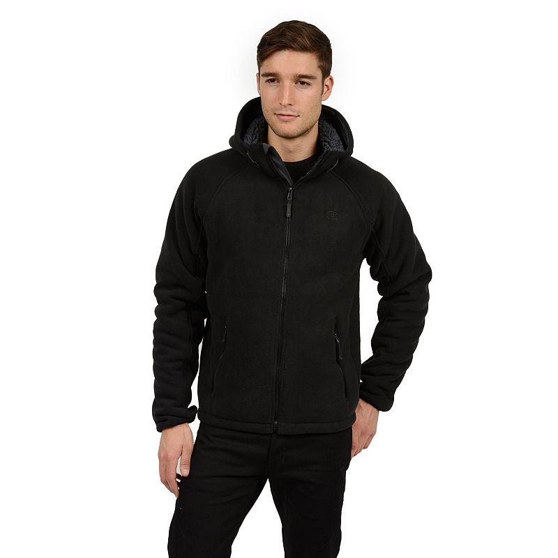 Men's Champion Bonded Fleece Hooded Performance Jacket