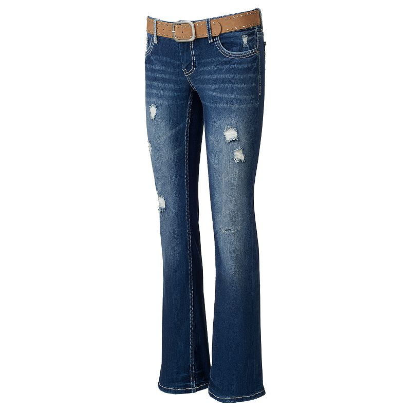 Juniors' Amethyst Slim Jeans