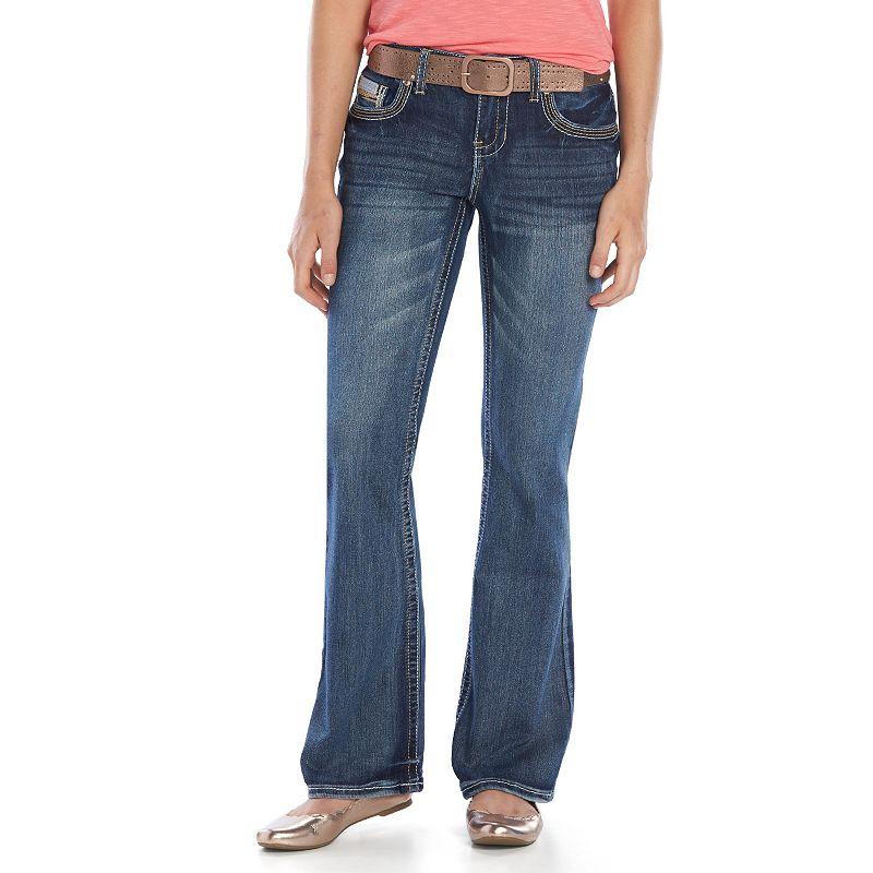 Juniors' Amethyst Bootcut Jeans