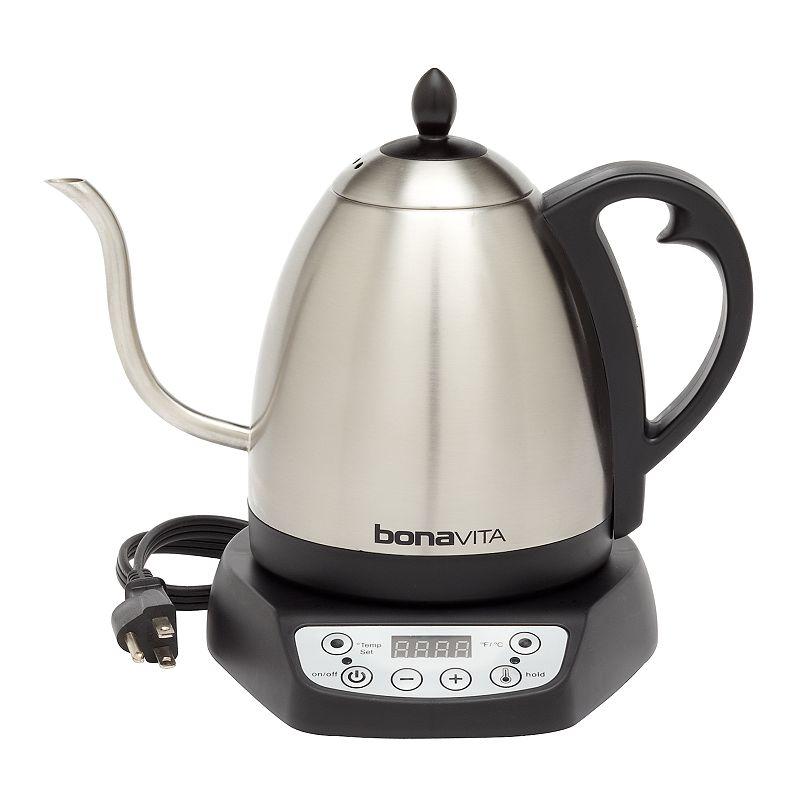 Bonavita 1-Liter Gooseneck Digital Electric Teakettle