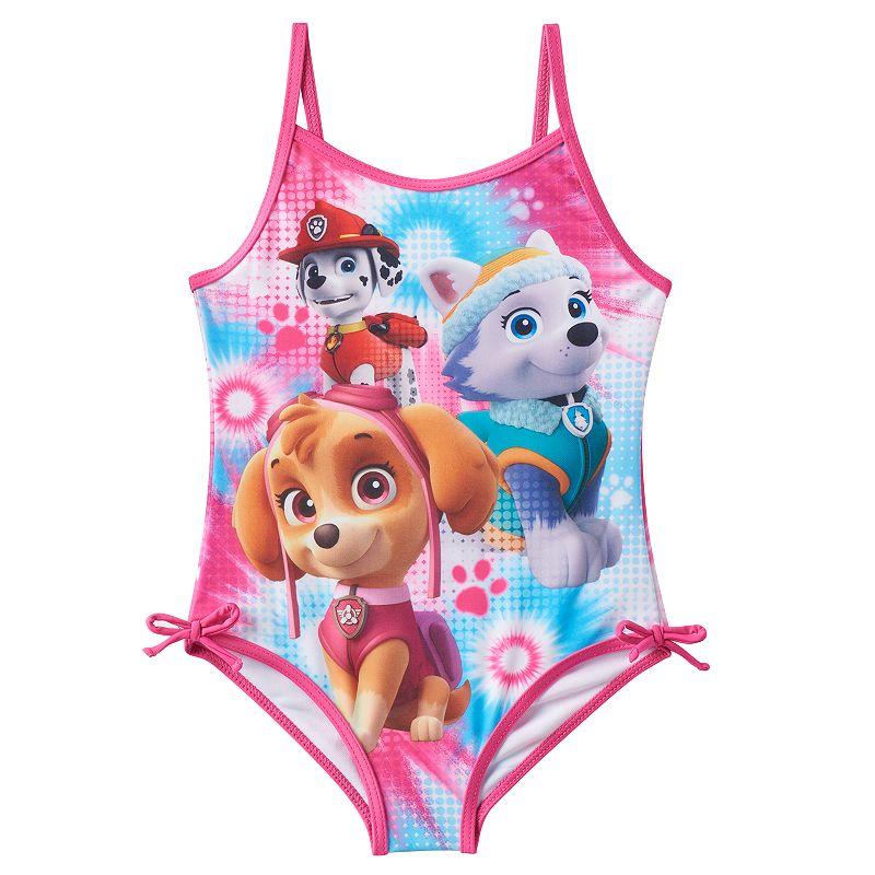 Girls 4-6x Paw Patrol One-Piece Swimsuit