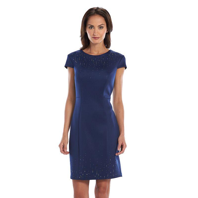 Chaya Embellished Sheath Dress - Women's