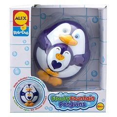 ALEX Rub a Dub Floaty Fountain Penguins by