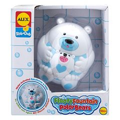 ALEX Rub a Dub Floaty Fountain Polar Bears by