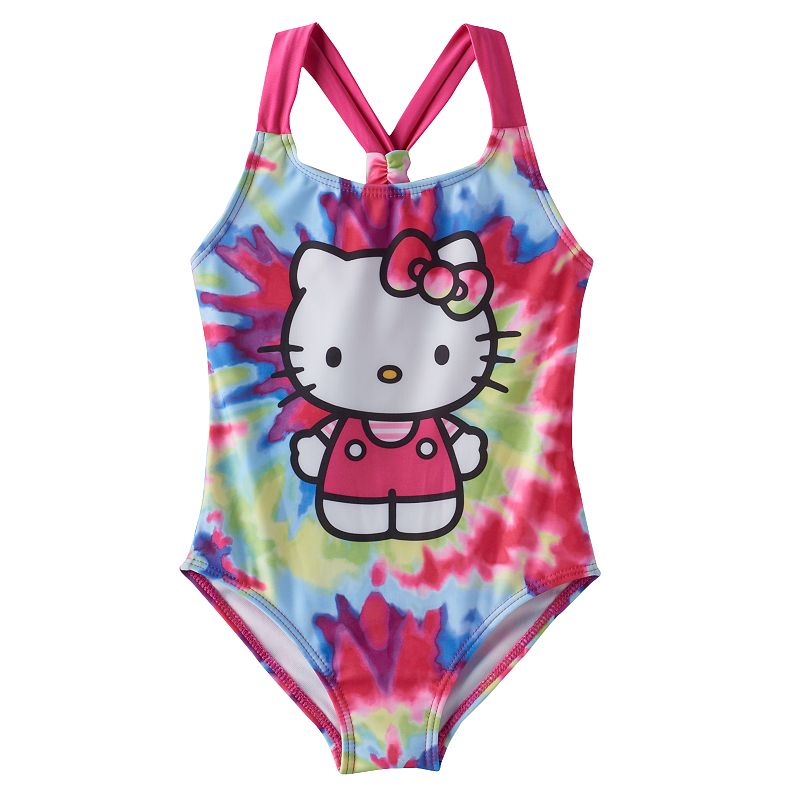 Girls 4-6x Hello Kitty® One-Piece Swimsuit