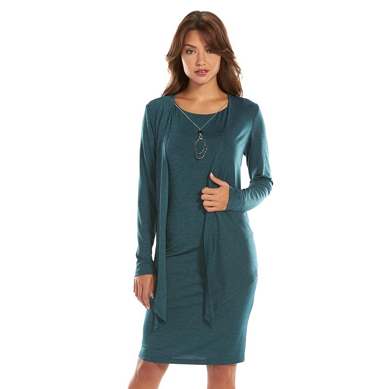 Jessica Howard Sheath Dress & Jacket Set - Women's