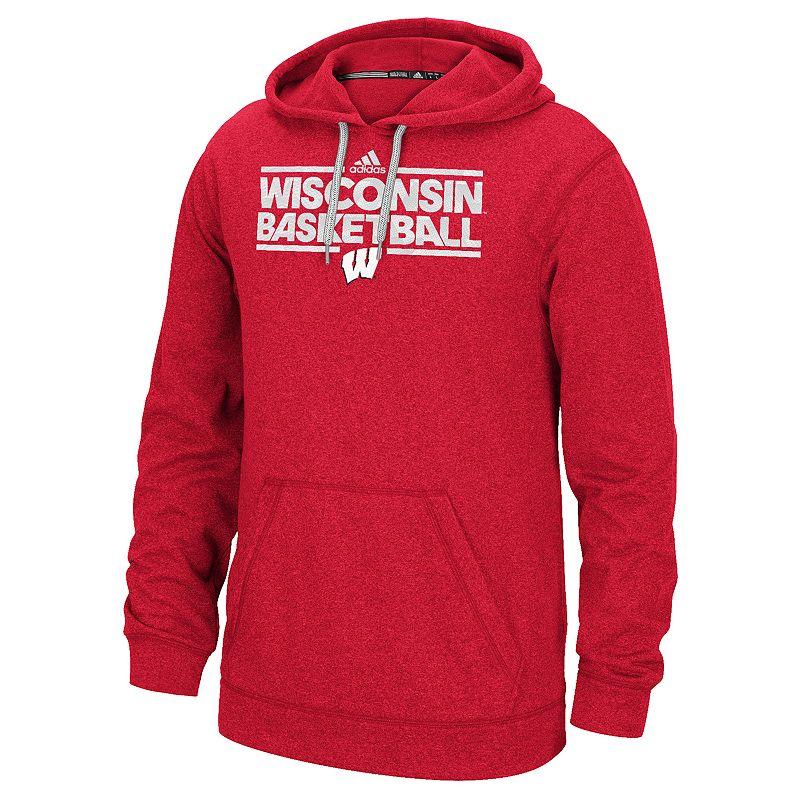 Men's adidas Wisconsin Badgers Energy Field Ultimate Hoodie