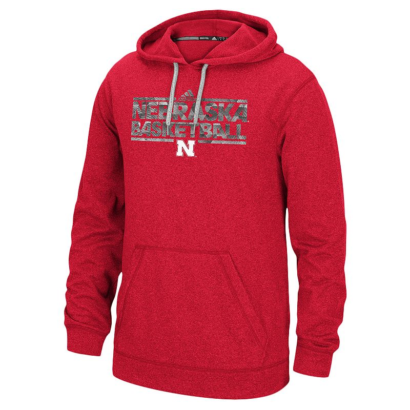 Men's adidas Nebraska Cornhuskers Energy Field Ultimate Hoodie