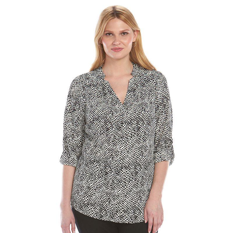Plus Size Apt. 9® Woven Blouse Top