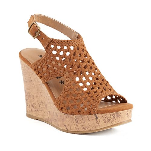 Womens Wedges Sandals - Shoes | Kohl's