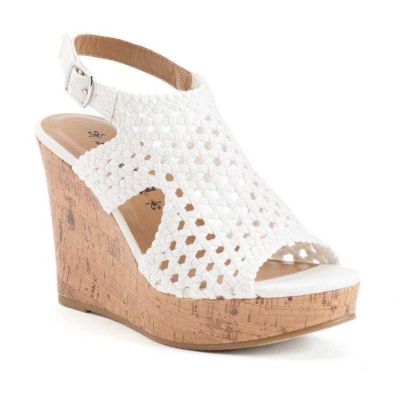 Mudd® Women's Wedge Sandals