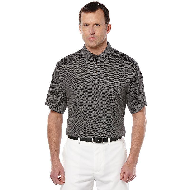 Men's Grand Slam Micro Jacquard Performance Golf Polo