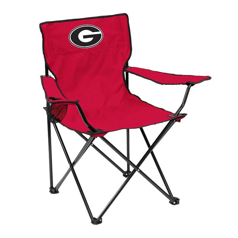 Logo Brand Georgia Bulldogs Portable Folding Chair