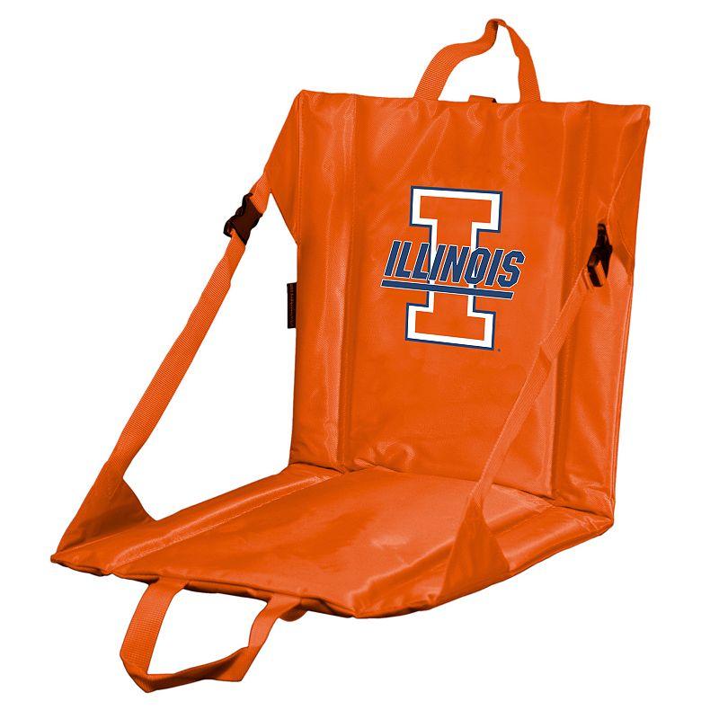 Logo Brand Illinois Fighting Illini Folding Stadium Seat