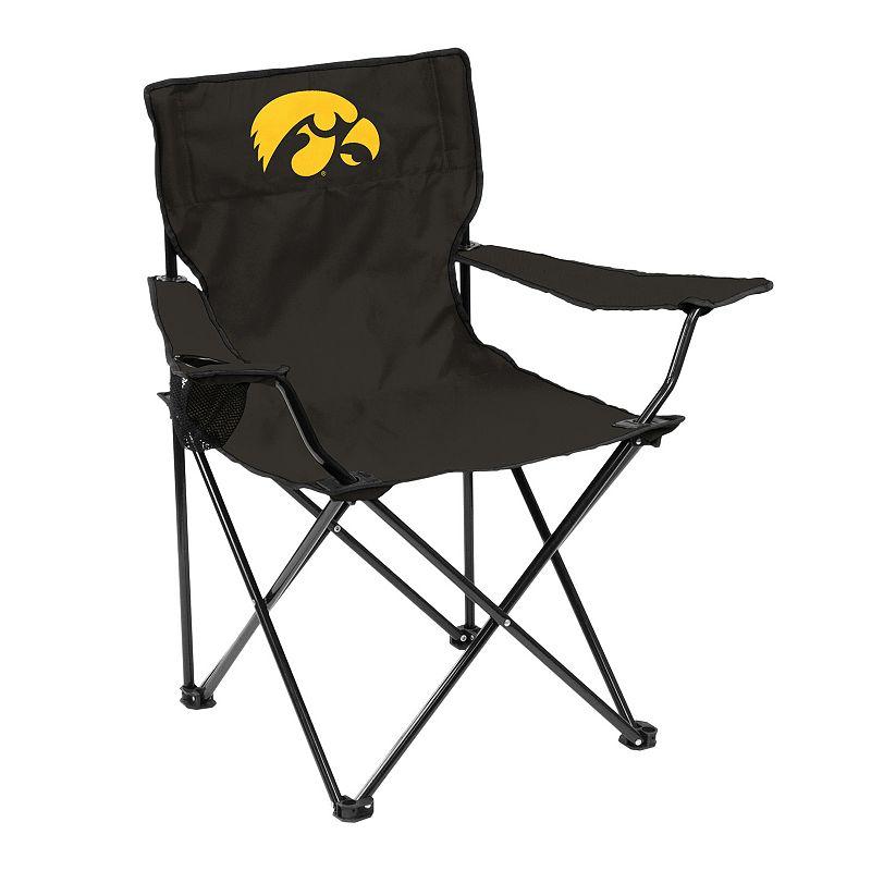 Logo Brand Iowa Hawkeyes Portable Folding Chair