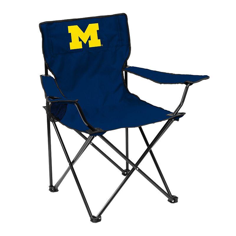 Logo Brand Michigan Wolverines Portable Folding Chair