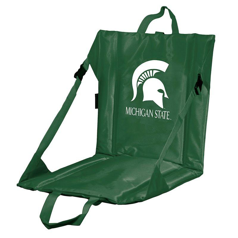Logo Brand Michigan State Spartans Folding Stadium Seat