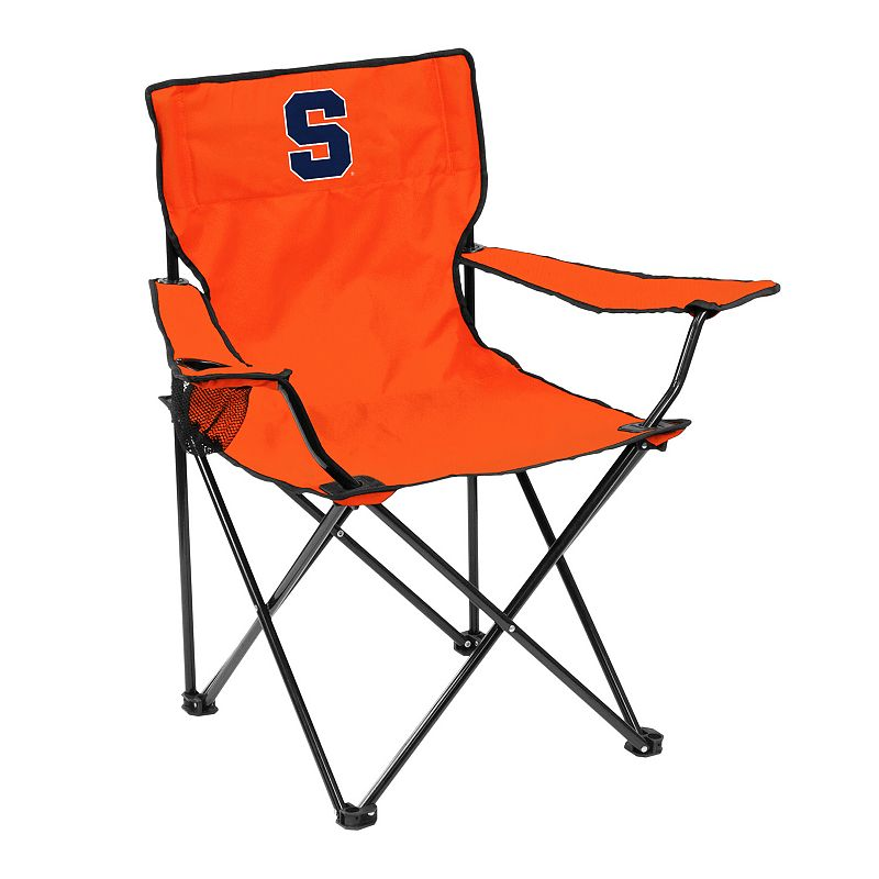 Logo Brand Syracuse Orange Portable Folding Chair
