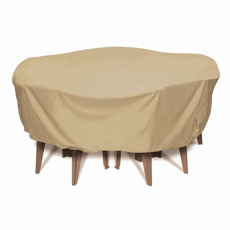 Smart Living 84-in. Round Table Set Cover